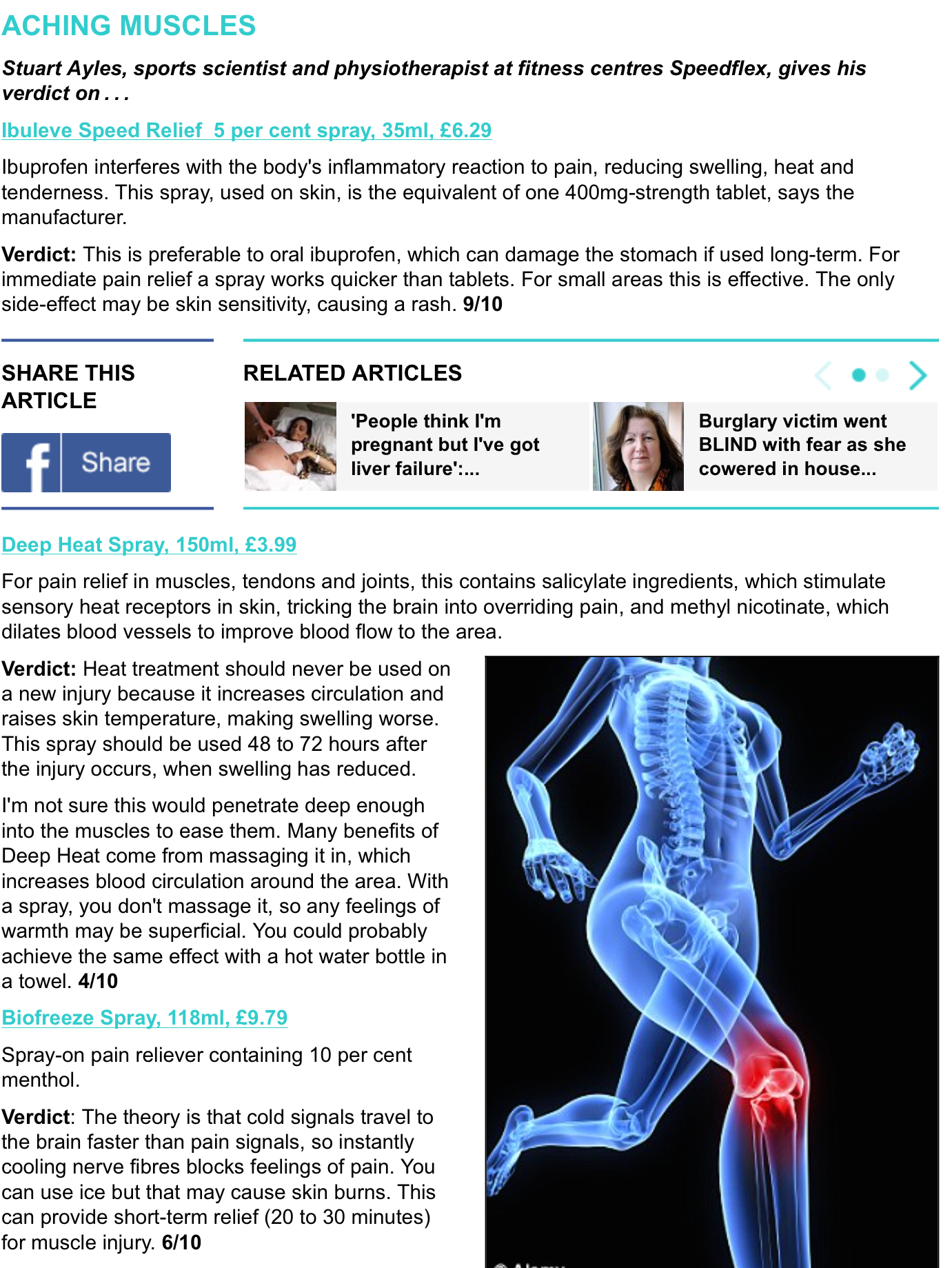 DAILY MAIL GOOD HEALTH