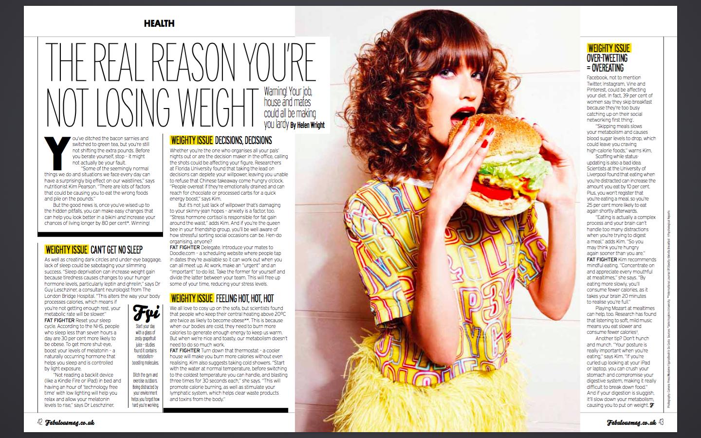 Fabulous Magazine - diet