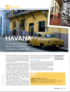 helen wright travel Cuba