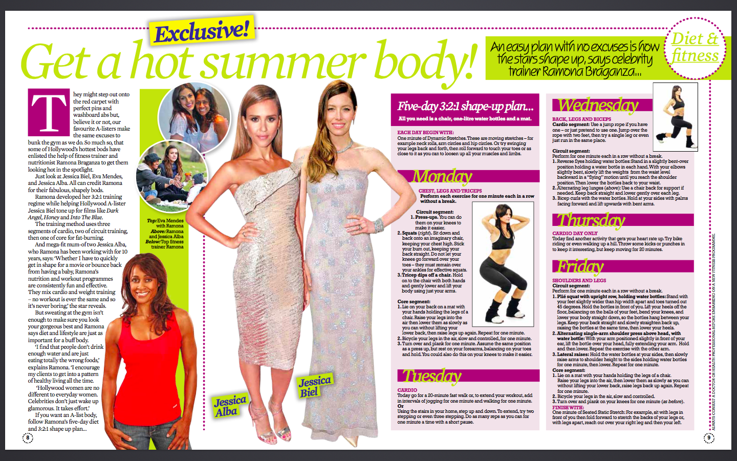 OK! Summer Special: How to get a hot summer body